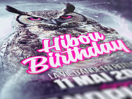Hibou birthday